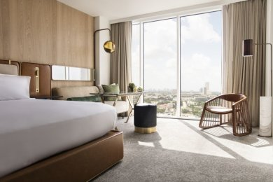 LuxeGetaways - Luxury Travel - Luxury Travel Magazine - Luxe Getaways - Luxury Lifestyle - C Baldwin Hotel Houston - Hilton - Doubletree by Hilton - Houston - Allen Center