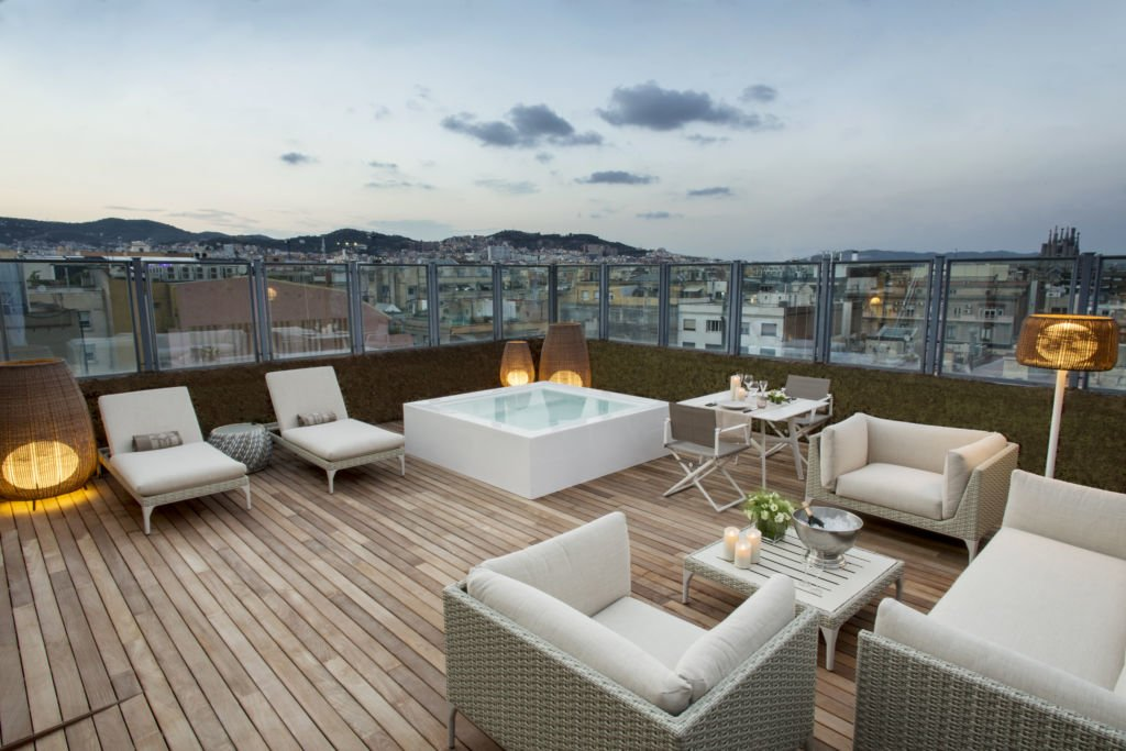 Inside One Of Barcelona S Most Luxurious Penthouse Suites