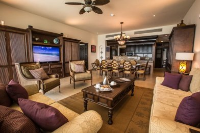 Cancun accommodations for families that are spacious at Grand Residences Riviera Cancun.