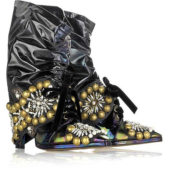 Christian Lacroix Motorcycle-Style Boots