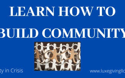 How To Create Community In Crisis