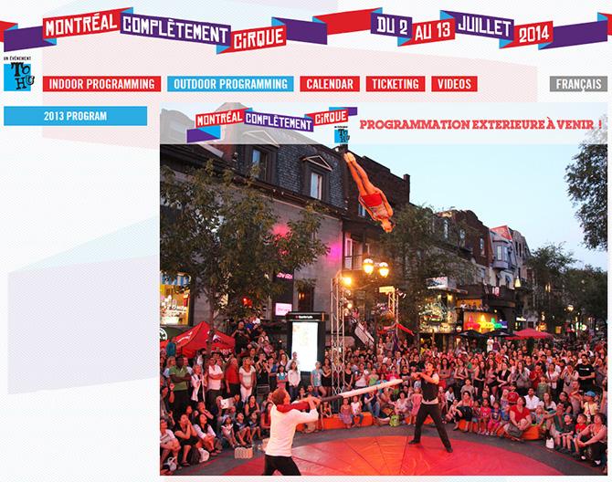 International Festival of Circus Arts Montreal
