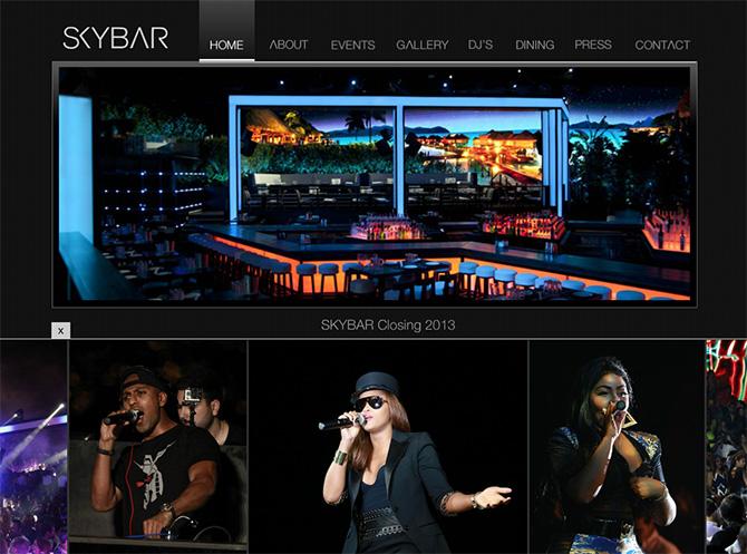 Sky Bar, Minet el Hosn in Beirut