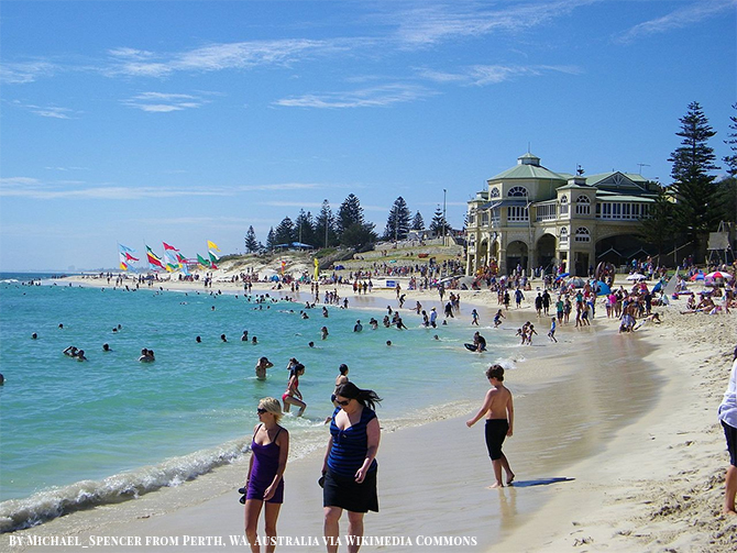 Stunning Beach Destination in Australia - Cottesloe Beach