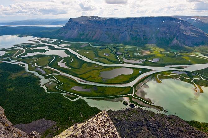 Kungsleden Kiking Trail - Sweden
