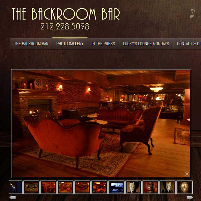 The Back Room: Best Speakeasies ion NYC