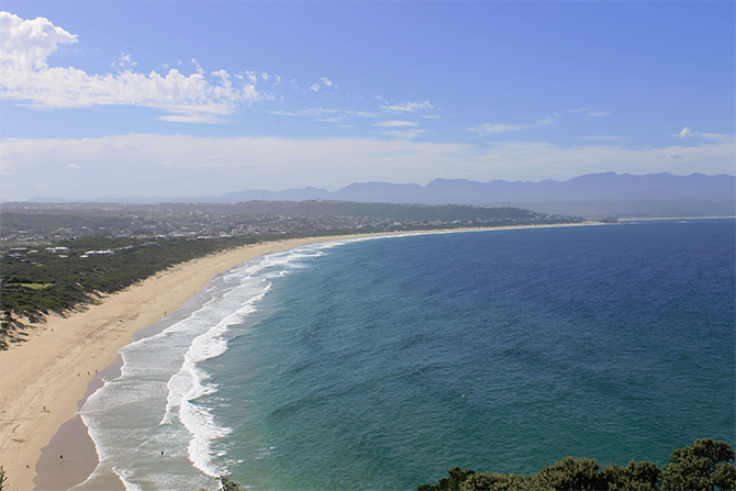 Robberg Beach, on the Plettenberg Bay