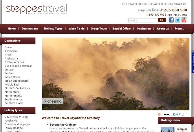 steppestravel.co.uk