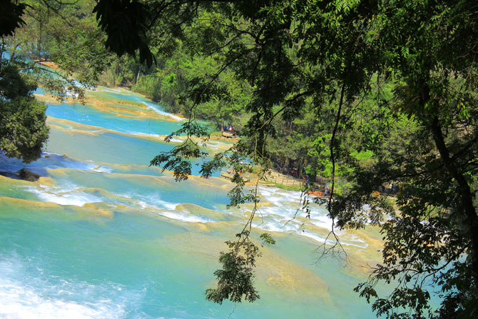 Agua Azula Waterfalls A Splendid Natural Beauty near Chiapas 3