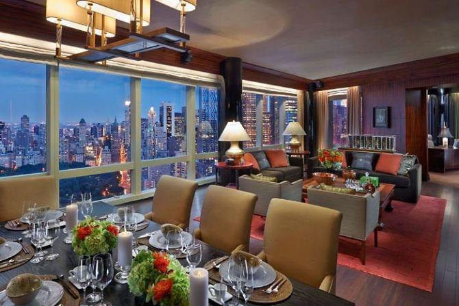 Best NYC Hotels for Summer Mandarin Oriental New York 2