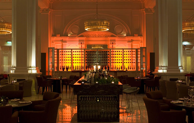 Fine Dining at 1901 Andaz Hotel London 1