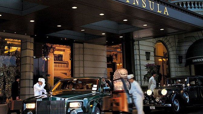 Five Luxury Hotels in Hong Kong The Peninsula 1