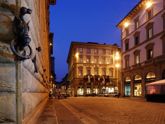 Luxury Weekend Stay in Florence Hotel Helvetia & Bristol 1