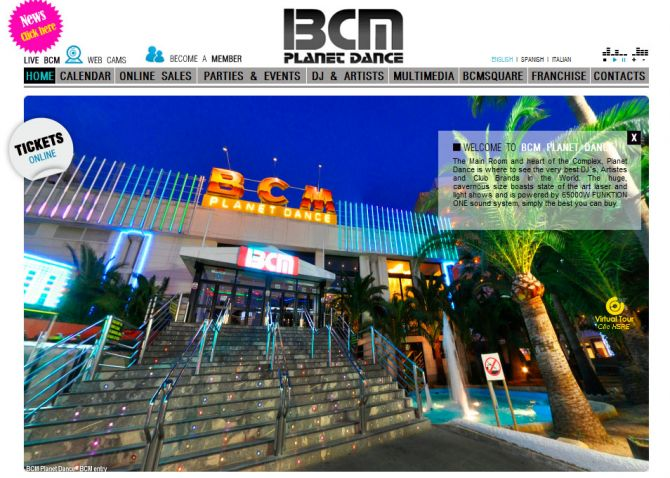 Top 10 European Nightlife Venues BCM Mallorca Spain