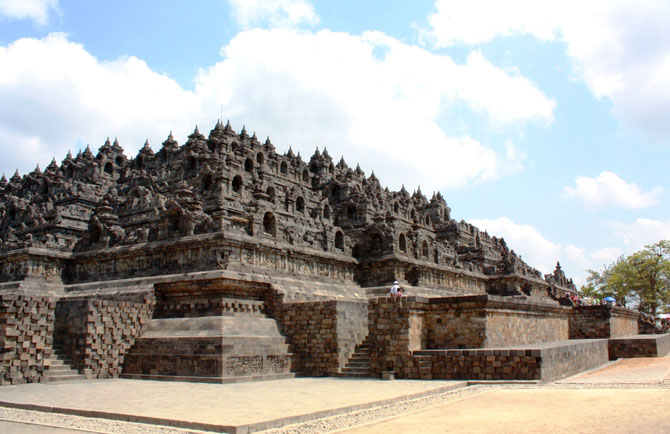 Top 10 Magnificent Temples in Asia Borobudur Java Indonesia