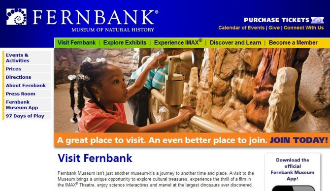 Top 5 Museums in Atlanta Fernbank Museum of Natural History