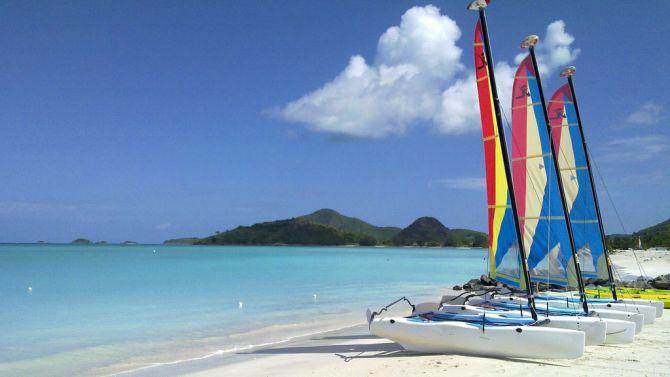 Top Five Beaches in Antigua Jolly Beach