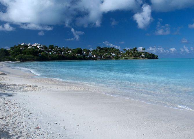 Top Five Beaches in Antigua Valley Church Beach