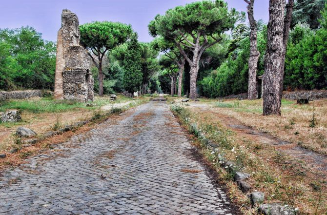Top Five Sights in Rome Appian Way