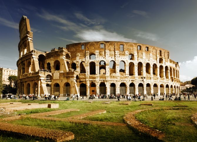Top Five Sights in Rome The Colosseum
