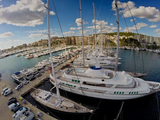 Top Ten Superyacht Marinas in the Med Club De Mar Mallorca