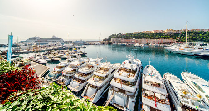 Top Ten Superyacht Marinas in the Med Yachting