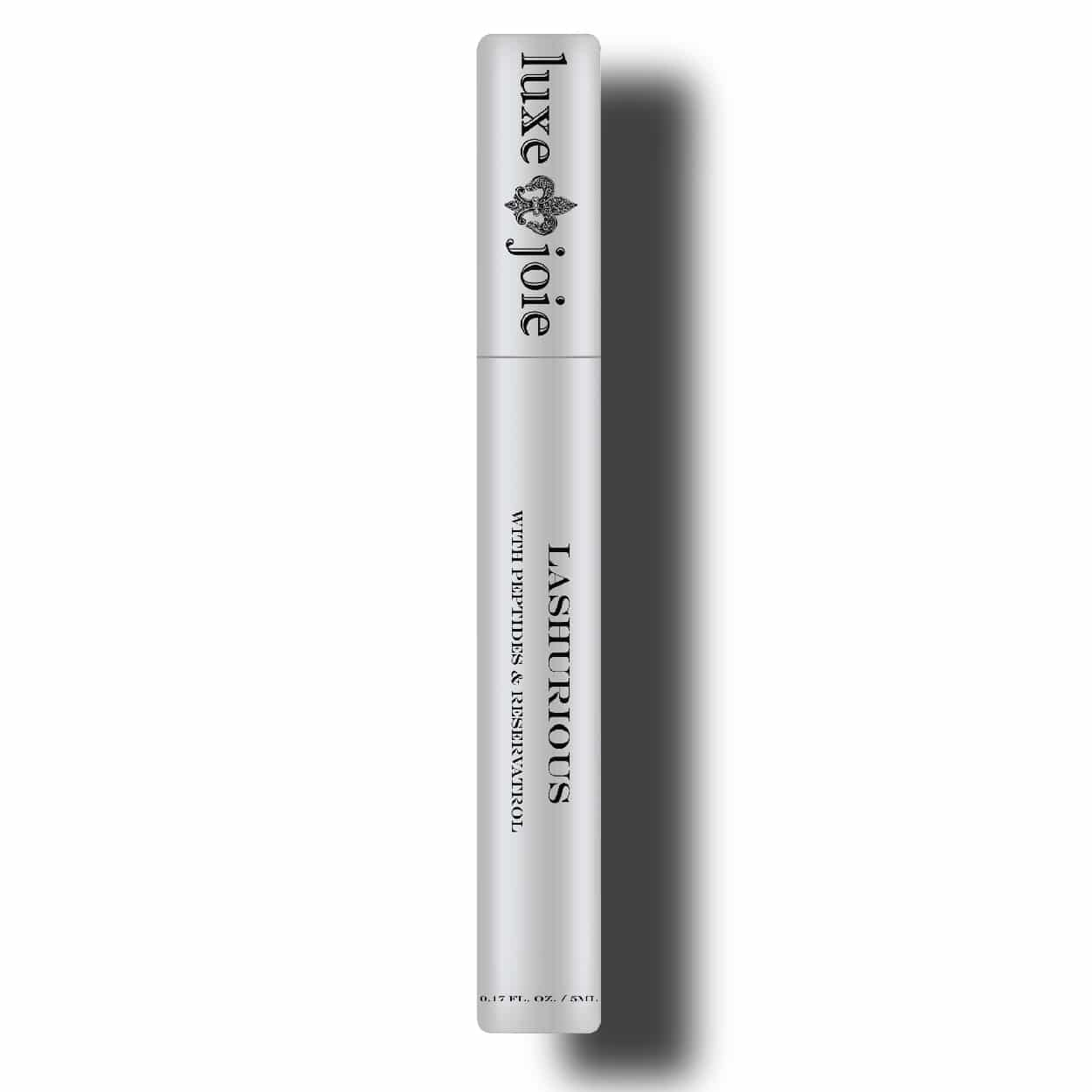 lashurious eye lash serum on white background