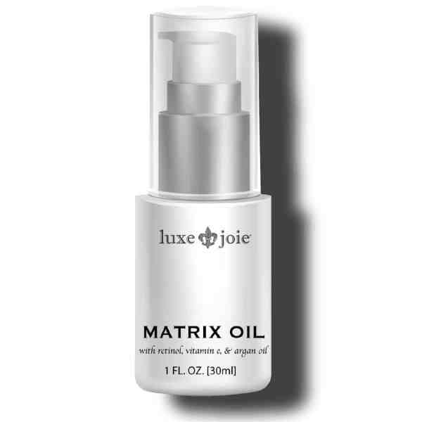 matrix oil on white background