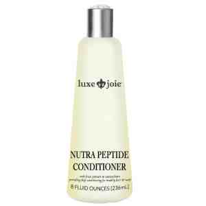 nutra peptide conditioner on white background