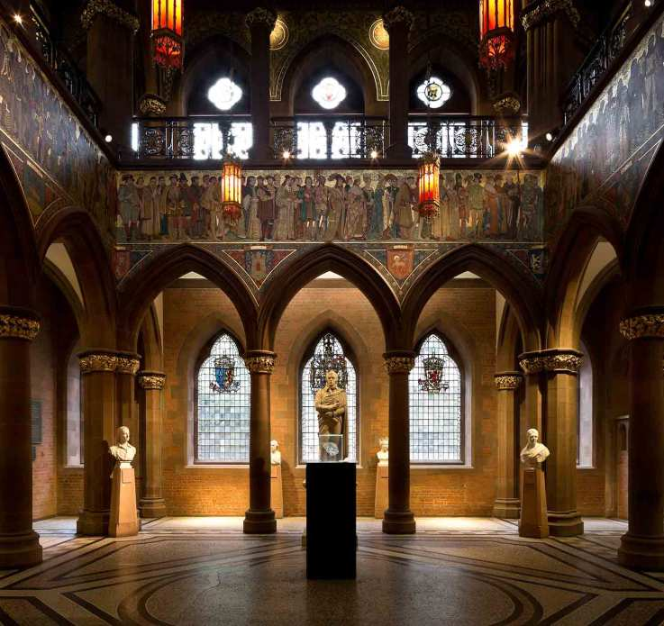 The-Great-Hall,-the-Scottish-National-Portrait-Gallery