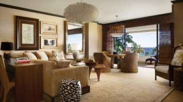 Four Seasons Lanai Penthouse Prime Ocean Front Suite - Courtesy of fourseasons.com