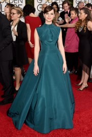 Felicity Jones in Dior with Van Cleef and Arpels jewels
