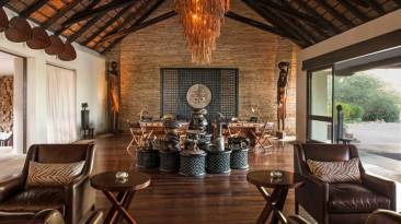 Four Seasons Safari Lodge Lobby - Courtesy of Four Seasons Resorts
