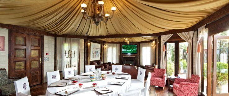 Kasbah Tamadot Asmoun Lounge - Courtesy of Kasbah Tamadot