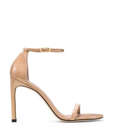 Emily Ratajkowski - Nude sandals - The Luxe Lookbook