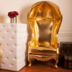 King And Queen Chairs For Rent Antique Pine Rocking Chair Luxe Rentals Gold