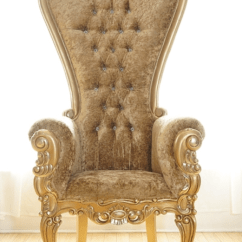Chair Linens For Rent Broda Indications Throne Chairs   Luxe Rentals