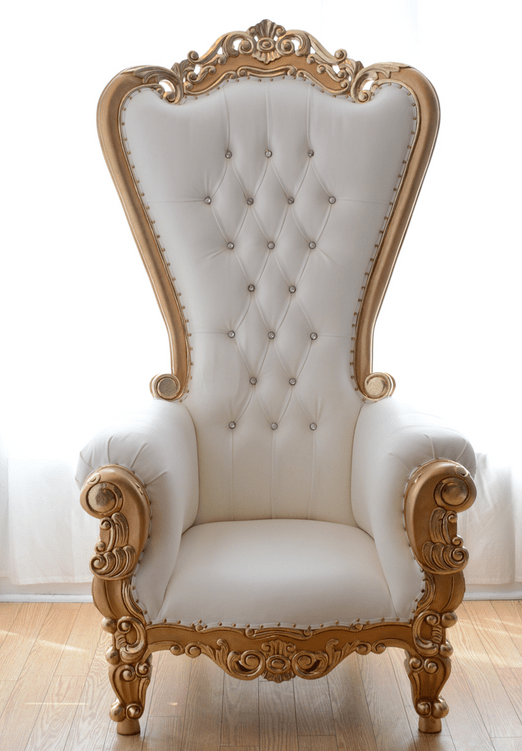 throne chairs for rent swing chair olx islamabad luxe rentals ms royal