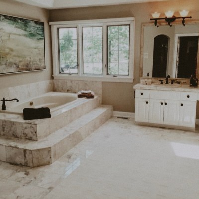 Master Bath Reveal with True Value