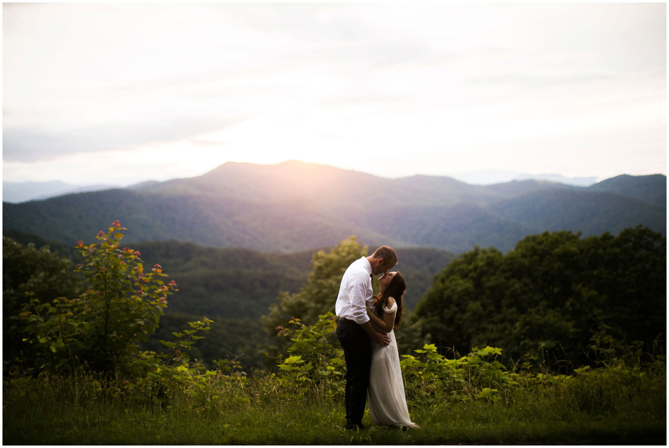 An Intimate Elopement in the Blue Ridge Mountains  Luxe Mountain Weddings  Mountain
