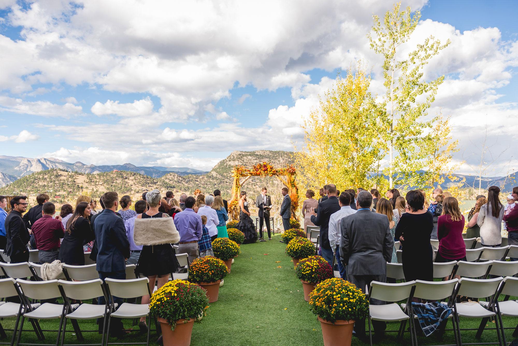 Fall Mountain Wedding