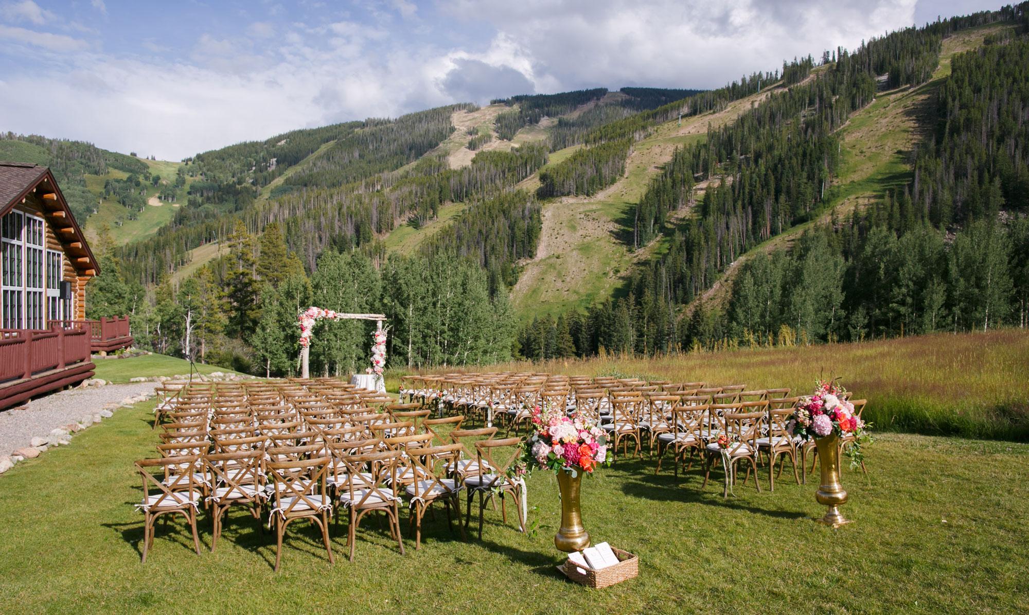 An Elegant Mountain Wedding in Beaver Creek  Luxe Mountain Weddings  Mountain Destination Weddings