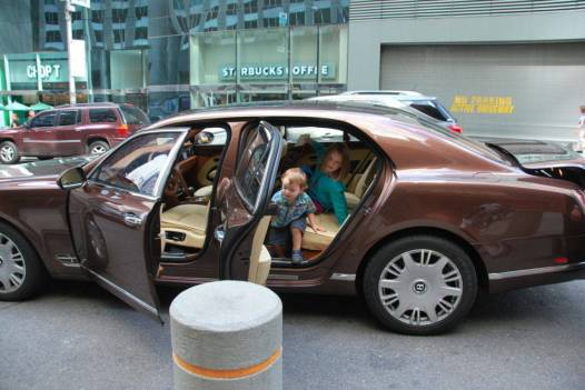 Sad our stay at the St. Regis New York was over but enjoyed the beautiful hotel Bentley