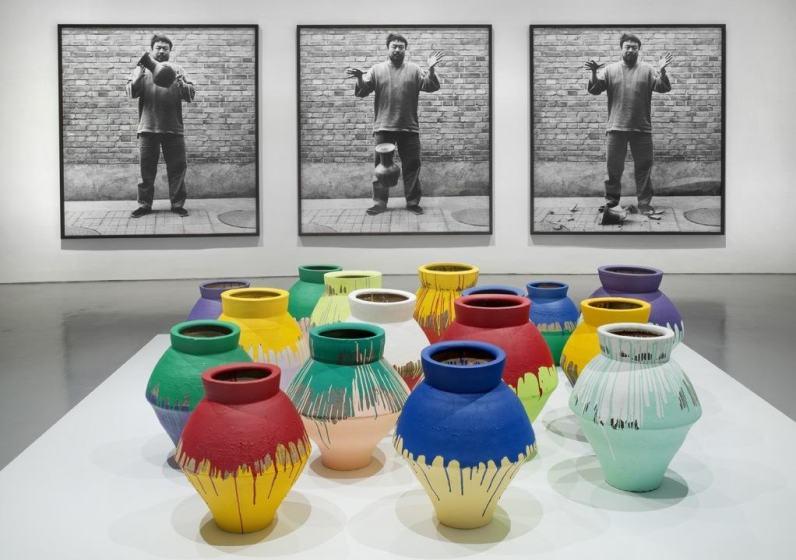Ai Weiwei's installation at the Perez Art Museum Miami