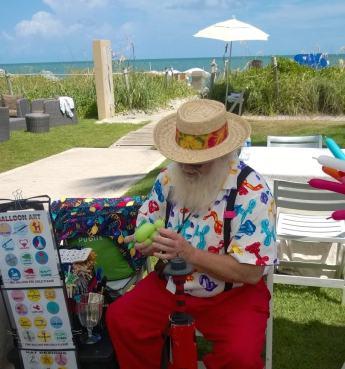 Where Santa spends the off-season: The Ritz Carlton Key Biscayne