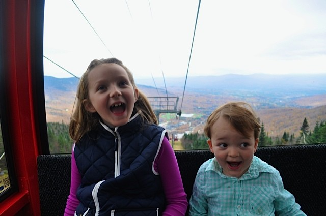 Singing for joy at the Stowe Mountain Lodge