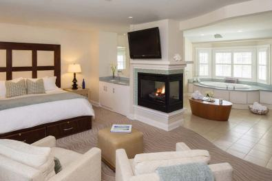 A spa suite at the Chatham Bars Inn
