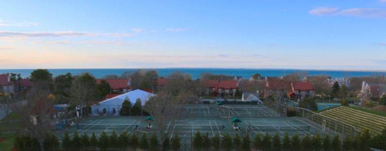 Serious tennis and golf options at Ocean Edge
