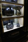Perrin, the luxury Parisian leather goods maker has one of two US stores in the Carlyle Hotel building