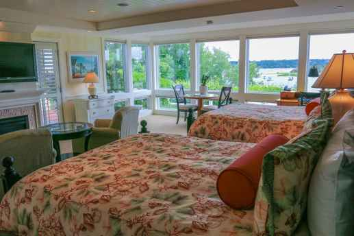 Wequassett signature water view room